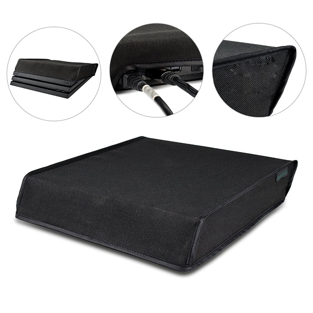 Soft Dustproof Cover Case For Sony Playstation 4 PS4 Slim Game Console Dust Proof Neoprene Cover Sleeve For Horizonal Place