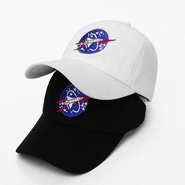 Badinka 2018 New Spacex Outer space Fans Universe Spacecraft Spaceman  Explorer Cotton Baseball Cap Hat Women Men Casual Dad Hats d5b4dd88f85