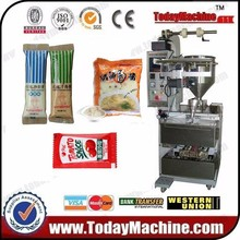 Automatic Small Liquid Sachet Packing and Filling Machine For Mayonnaise/ Ketchup/ Salad Dressing/
