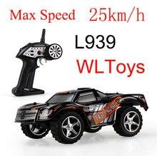 İnanılmaz WLtoys L939 Yüksek Hızlı 2.4G mini RC Araba Drift araba 5 Seviye Hız Vites Tam Orantılı Direksiyon Uzaktan Kumanda oyuncaklar