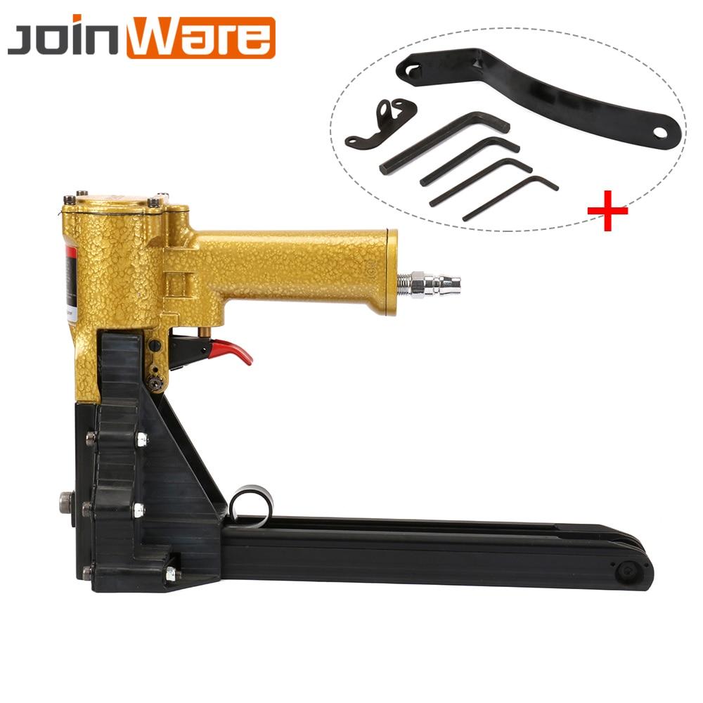 Air Nailer Carton Box Closing Stapler Series Nails Professional Pneumatic Tool 1Pc High Quality цена