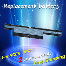 JIGU Аккумулятор для Ноутбука Acer Aspire 7750 5736Z AS10D31 AS10D51 7551 7552 Г 5755 5742ZG 5253 6495 Г 5760 Г