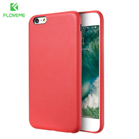 FLOVEME Business Case For IPhone 6 6s Simple Style PU Leather Mobile Phone Bag Full Protective