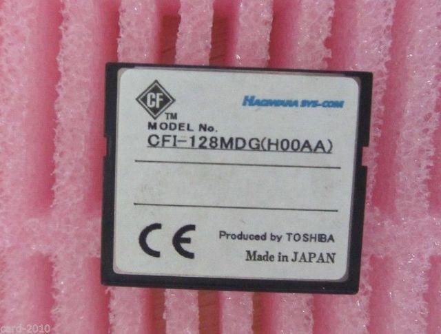 128MB Compact Flash Card CF MEMORY CARDS cf cards CFI-128MDG(H00AA)