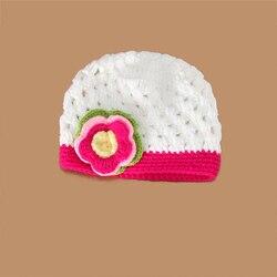 New girls wool hats wholesale handmade baby flower pot cap white rose newborn christmas gift 0.jpg 250x250
