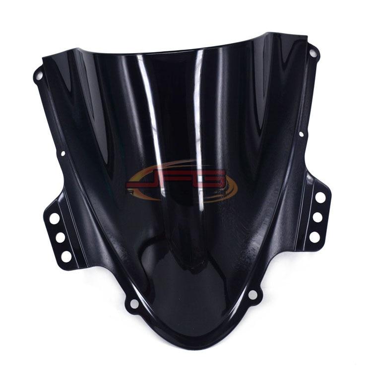 Black Windscreen Windshield for Suzuki GSXR1000 GSXR 1000 K5 05 06