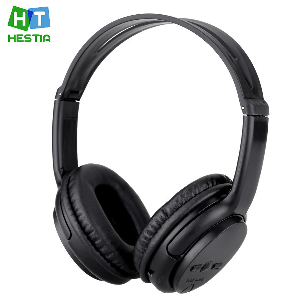 HESTIA Bluetooth Headphone Foldable Stereo Headset Earbuds Support TF Card With Microphone Music Headphone For Phone PC MP3 MP4 ks 509 mp3 player stereo headset headphones w tf card slot fm black