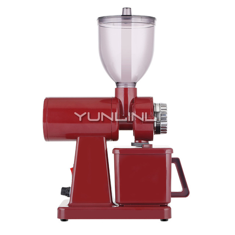 Coffee Bean Grinder Household/Commercial Electric Coffee Bean Mill 250g Coffee Bean Grinding Machine CRM9008 xeoleo professional coffee grinder commercial coffee powder milling machine electric coffee bean grinding machine coffee maker