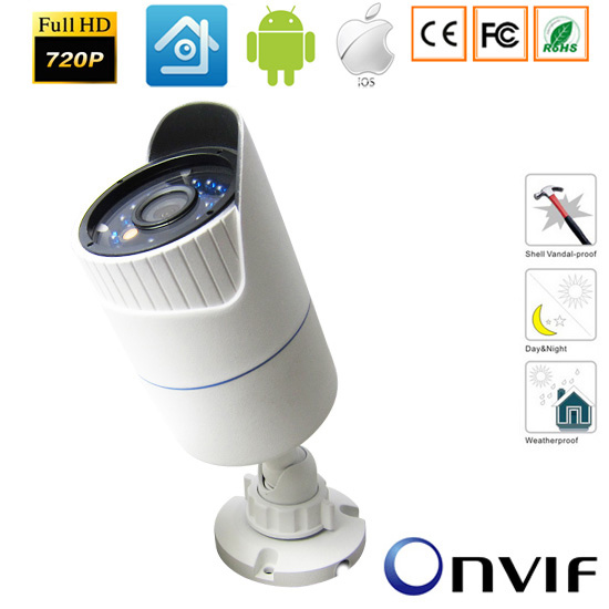 CCTV 720P/960P/1080P Bullet HD IP Camera Network Outdoor/Indoor Security Waterproof  IP Camera Night Vision P2P Onvif-xmeye owlcat wifi ip camera bullet outdoor waterproof onvif wireless network kamara 2mp full hd 1080p 720p security cctv camera