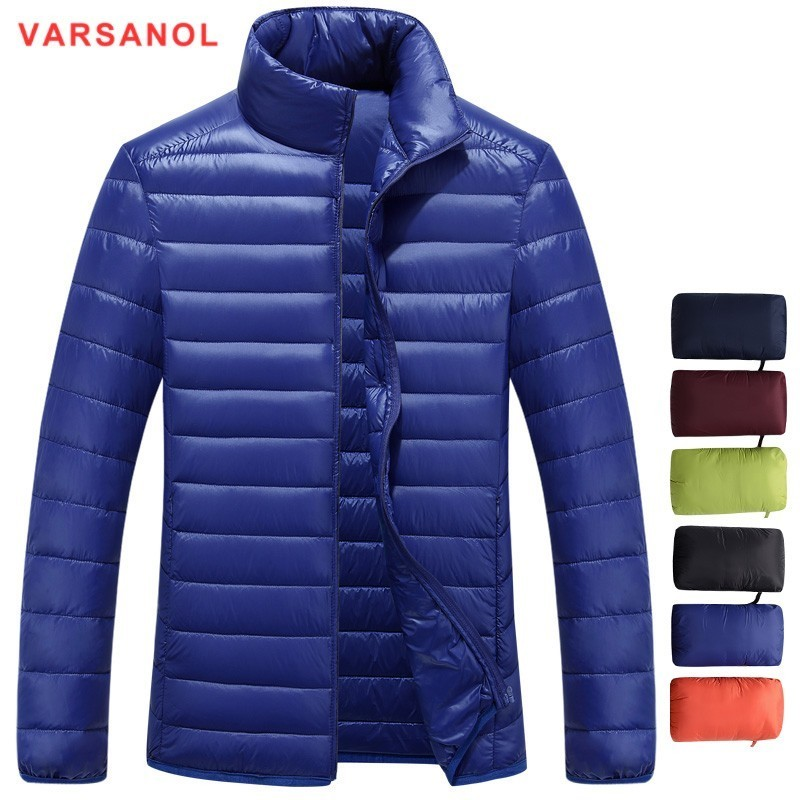Jackets & Coats 2018 High Quality 90% White Duck Thick Down Jacket Men Coat Snow Parkas Male Warm Brand Clothing Winter Down Jacket Outerwear