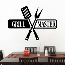 Beauty grill master Wall Sticker Removable Stickers Diy Wallpaper Nursery Room Decor For Kitchen