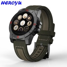 Heroyu Outdoor Sport Smartwatch Bluetooth Smart Uhr Military Kompass Wasserdicht Wach für Apple IOS Android Smartphone Uhren
