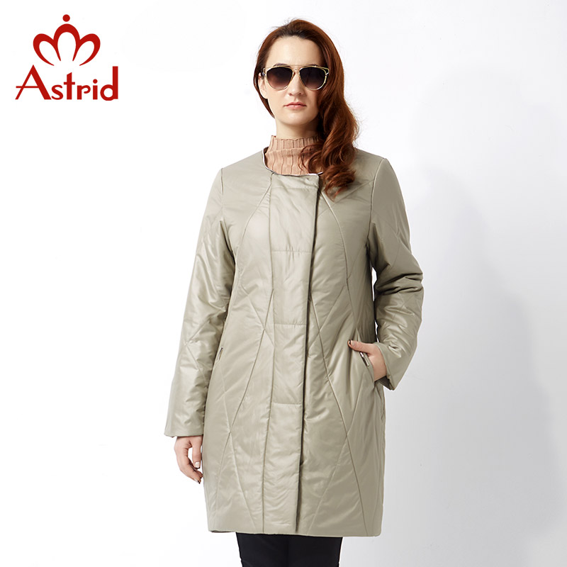 Astrid 2019 Women's Spring Jacket Casual Fashion Women   Parka   High-Quality Female Hooded Coat Brand   Parka   Plus Size 5XL AM-2305