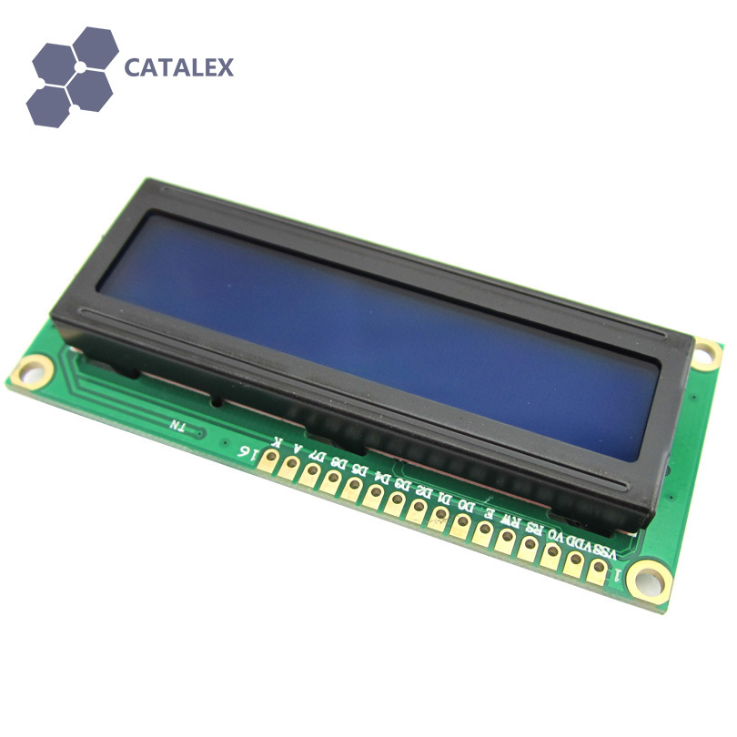 New Character LCD Module Display LCM 1602 LCD1602 16X2 HD44780 Blue Backlight