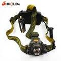 Sensing headlights 300 lumen flashlight head SHUO LI DE SLD-TK87 Camping lantern led light fishing lights for  Hunting Fishing