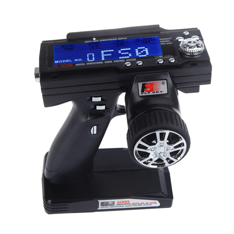 US $35 16 26% OFF|Flysky FS GT3B 2 4G 3CH Radio Model Remote Control LCD  Transmitter & Receiver for RC Car Boat-in Parts & Accessories from Toys &