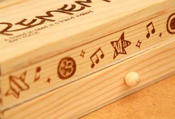Бесплатная Доставка Дети деревянный пенал для карандашей игрушки Сделай Сам работать мульти-функциональная ручка коробки двойной получить Чехол игрушка для детей; из дерева игрушка в подарок