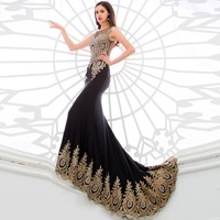 Ready-To-Ship-Cheap-Factory-Price-Black-Red-Long-Evening-Dresses-Mermaid-Dresses-Women-Formal-Evening