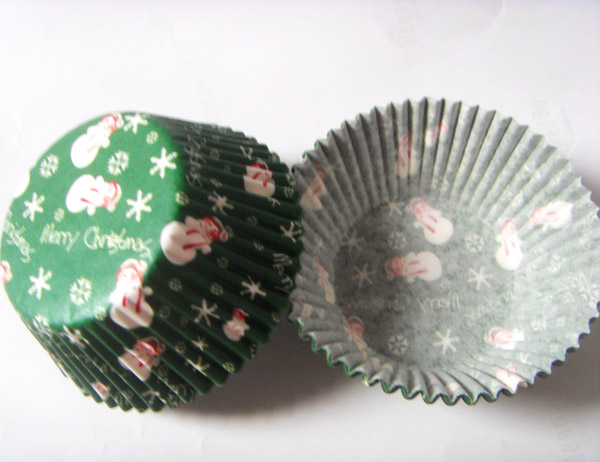 Christmas Cupcake Cases 50 Cake Decorating Supplies