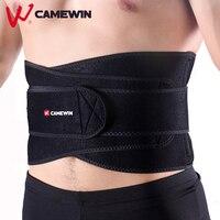Adjustable Double Pressure Waist Protect Belt CAMEWIN Brand Men Women Gym Sports Fitness Running Training Waist