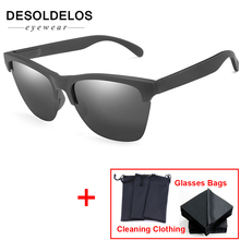 Mens Polarized Sun Glasse 2019 Polaroid HD Sunglasses Men Night Vision Women Classes Brand Unisex Glasses D154