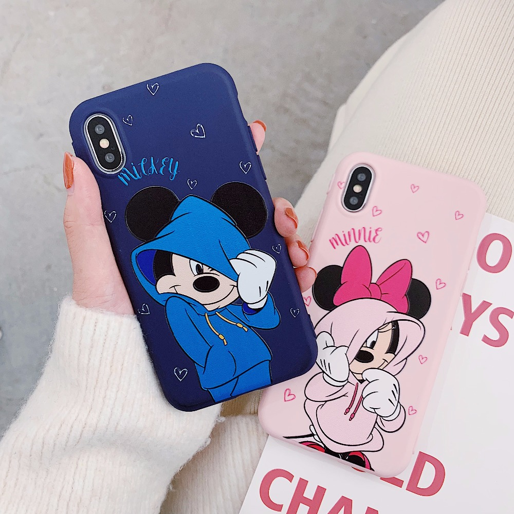 Cover Iceberg per iPhone XS X Disney angry Mickey Mouse