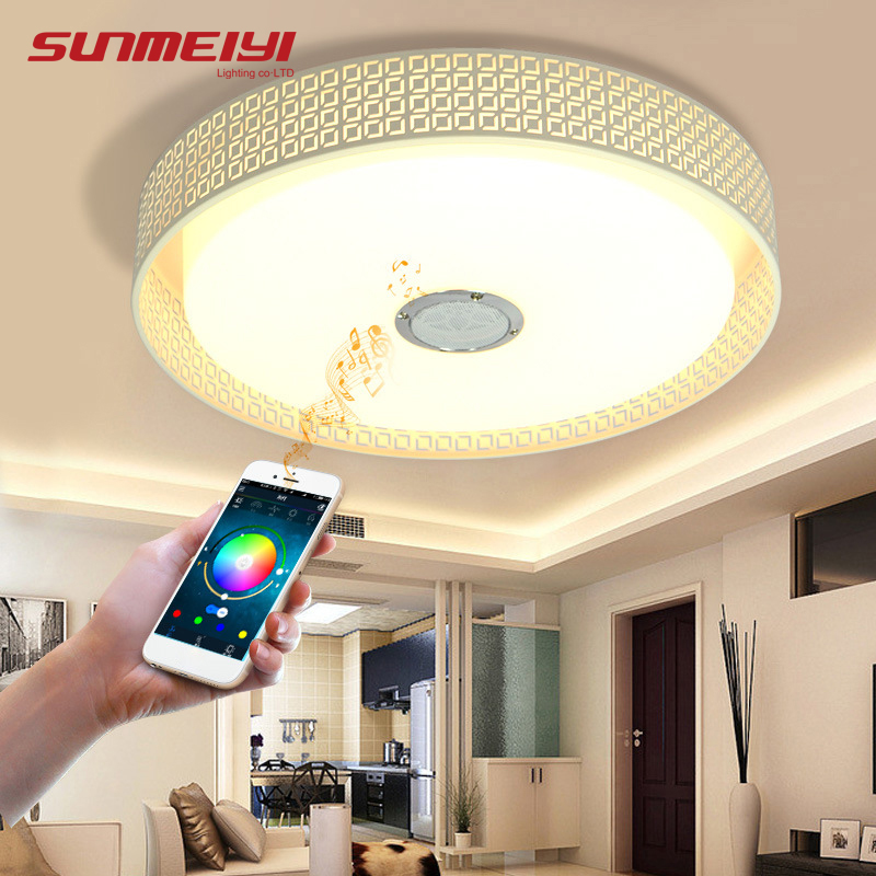Modern RGB LED Ceiling Lights For Kitchen Bluetooth ...