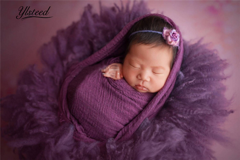 100% Pure Wool Blanket Real Fur Blanket Newborn Photography Props Photo Background Backdrops Blankets Photography Basket Filler fotografia newborn photography props blanket letter racks fences photography backdrops background