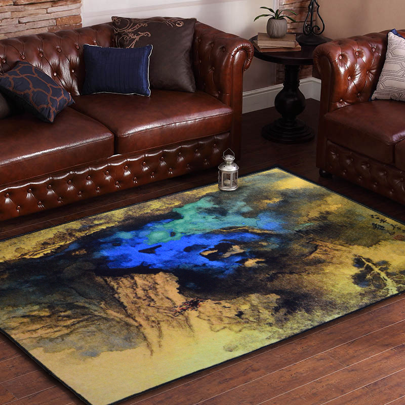 1.6M*2.3M Classical Wind Carpet Scholarly Art Carpet Living Room Coffee  Table Large