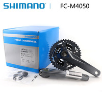 Shimano Alivio FC M4050 3x9 speed BIKE bicycle Crank Crankset FC M4050 chain wheel crank 170mm HollowTech bicycle parts