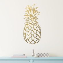 YOYOYU 40 colors Vinyl wall stickers for kid room Gold Pineapple Removeable Wall Decal Bedroom Livingroom Decor ZX249