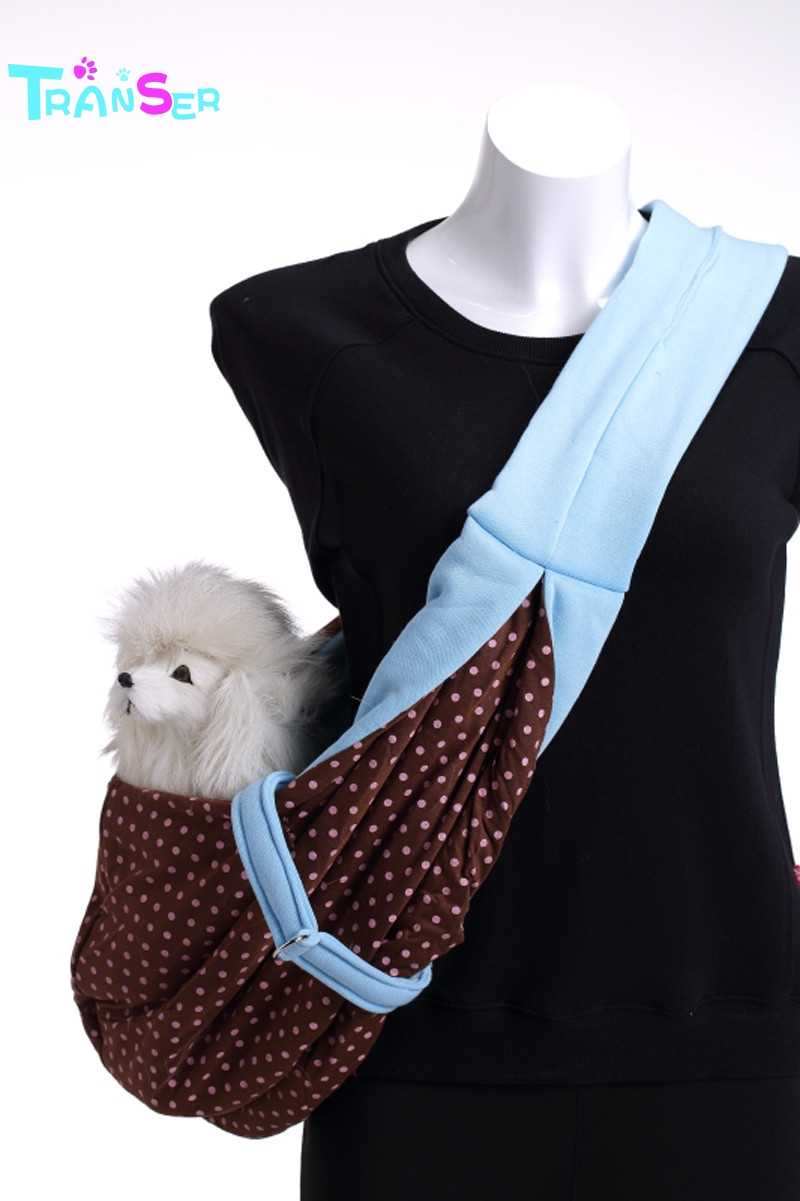Transer Hands-free Reversible Small Dog Cat Carrier Bag Travel Tote Comfortable Puppy Pouch Shoulder Carry Tote Handbag NV6 M30