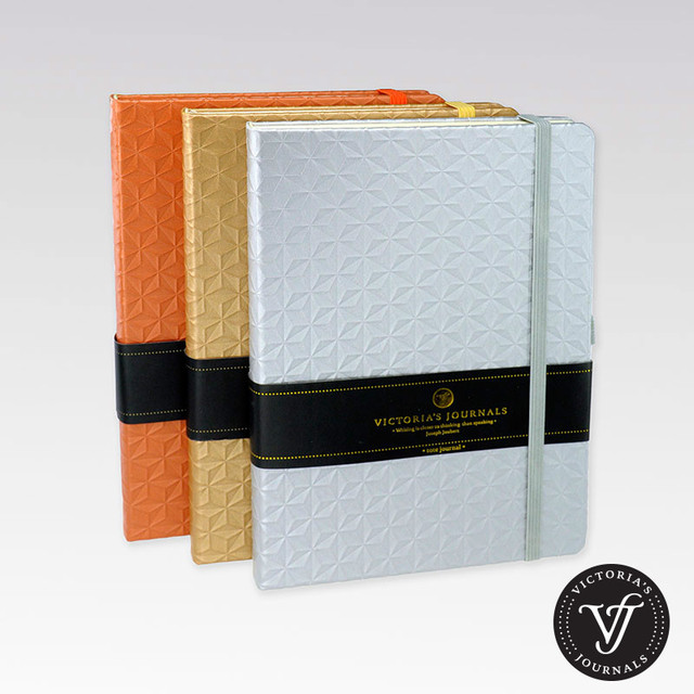 dazzle hard cover lined notebook ruled journal in notebooks from