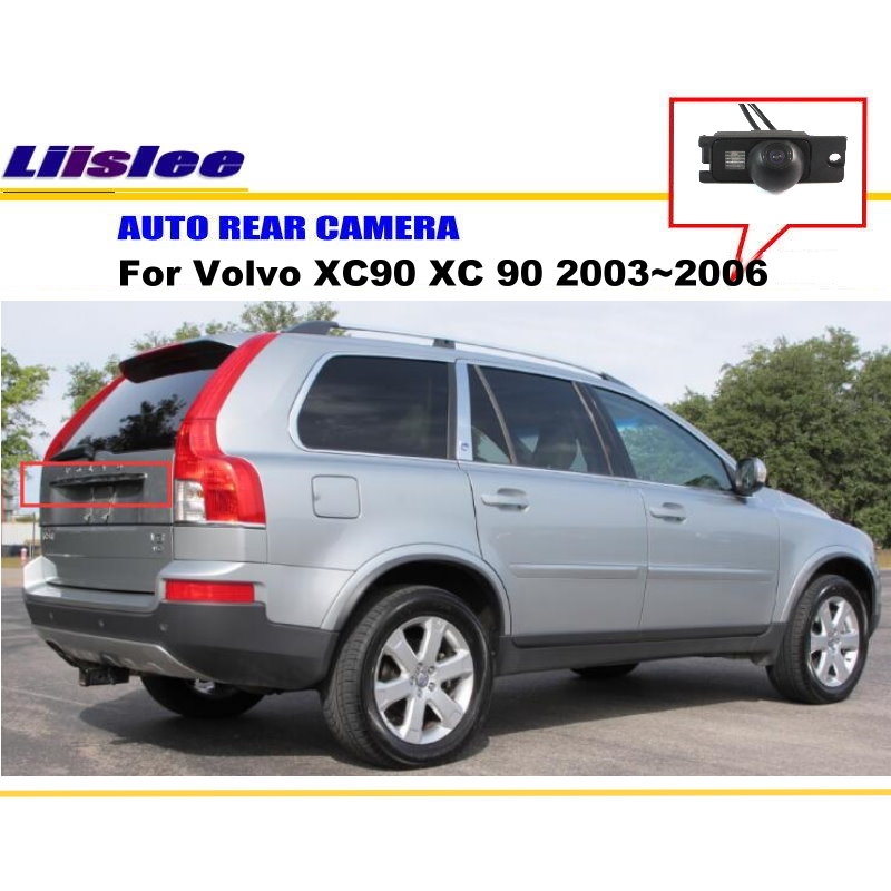 Liislee Rear View Reverse Camera Backup Parking Camera For <font><b>Volvo</b></font> XC90 <font><b>XC</b></font> <font><b>90</b></font> 2003~2006 / HD CCD / License Plate Light Install image
