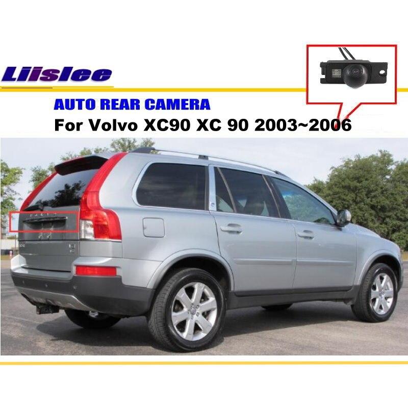 Liislee リア図のリバースカメラのバックアップ駐車カメラのためのボルボ XC90 XC 90 2003 〜 2006/HD CCD/ ライセンスプレートライトが  グループ上の 自動車 &バイク からの 車両カメラ の中 1