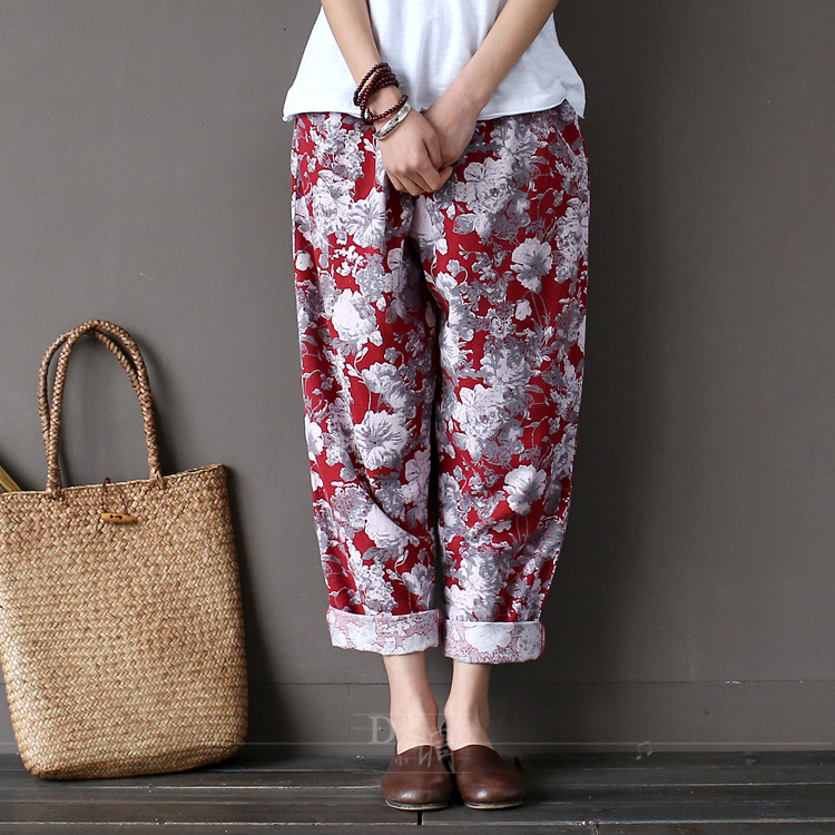 Online Get Cheap Linen Capri Trousers -Aliexpress.com | Alibaba Group