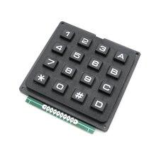 CFSUNBIRD 5pcs/lot 4 X 4 Matrix Keyboard Keypad Module with 16 Keys 4 * 4 Plastic Keys Switch for Arduino Controller