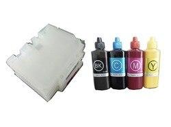 Einkshop GC21 kartridż do drukarki do ponownego napełnienia kaseta z tonerem do ricoh GX7000 GX3000 GX5000 GX2500 + 1 zestaw żel atrament sublimacyjny