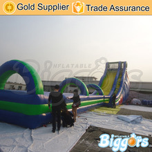 Free Shipping Giant Inflatable Slip And Slide Fun Inflatable Slip n Slide The City Water Park For Kids And Adult