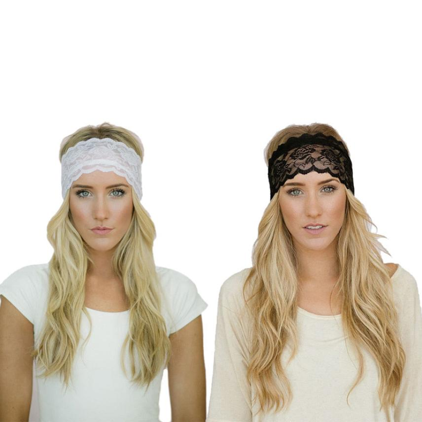 headbands for women womens girls lace headband head wrap twisted hair band headdress new diademas bebes ninas
