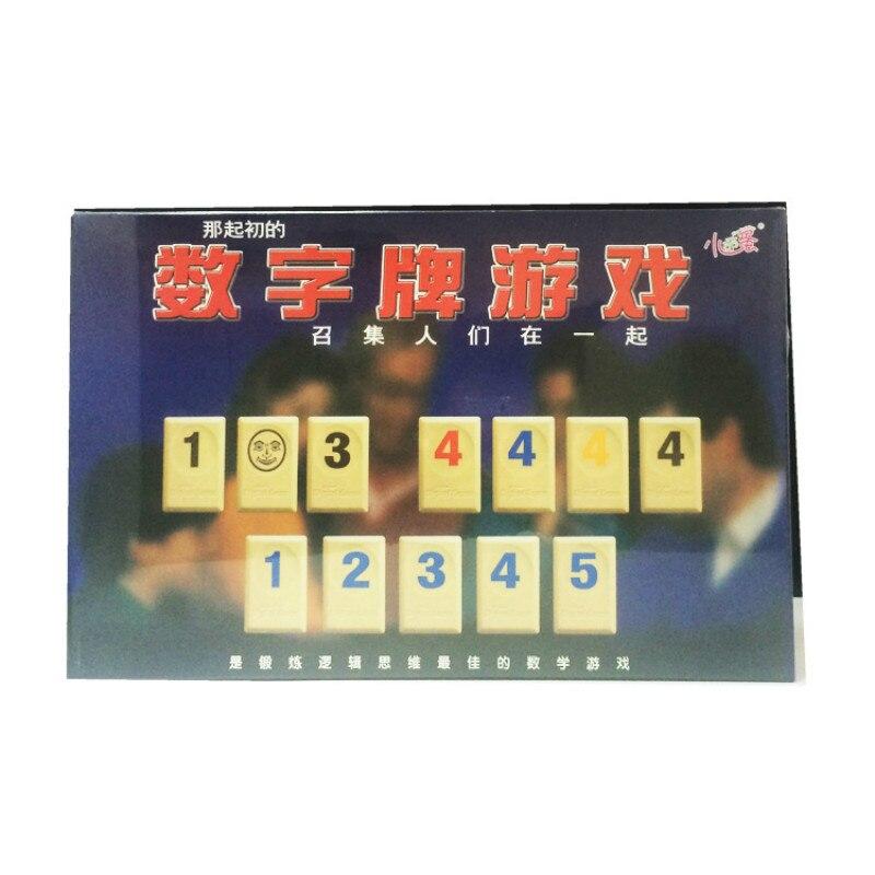 Digital Game Table Games Rami Israel Mahjong Game Rummikub PP Puzzle Game набор game essential