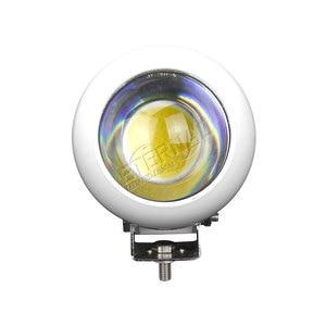 Image 5 - 2個25ワットオートバイのフォグランプled作業灯ハイビーム車のヘッドライトスポットライトトラック自動トレーラーピックアップ4x4 atv utv