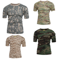 2016 Tactical Military Camouflage T Shirt Men Breathable Quick Dry US Army Training Combat T-Shirt Outdoor Sport Hunting Tshirt