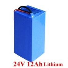 24 v 12ah литий-ионный Батарея 3 s BMS 3,7 v литиево-ионный аккумулятор 18650 24 v 12ah для 350 w пожилой скутер Байк, способный преодолевать Броды для велосипеда+ 2A Зарядное устройство