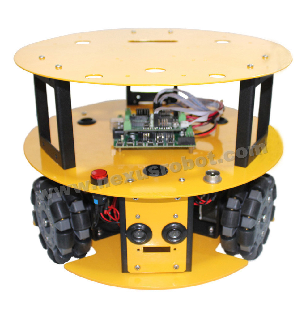 3WD 100mm Omni Wheel Mobile arduino Robot Kit - Escuela y materiales educativos - foto 2