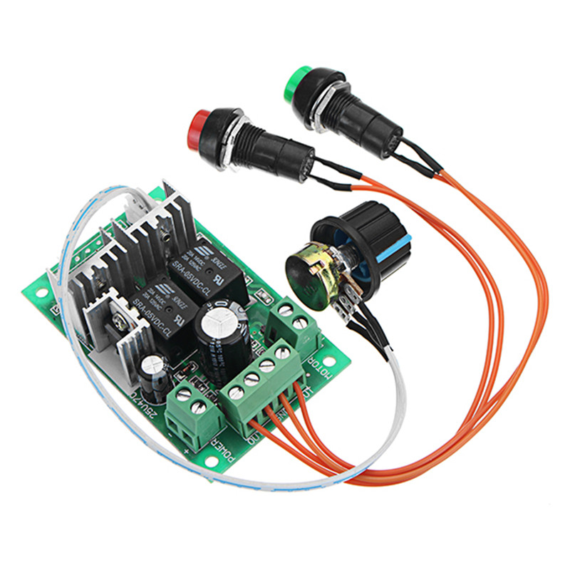 1pc Durable DC 5-30V 10A 300W PWM DC Motor Speed Regulator Speed Controller Support PLC 0-5V
