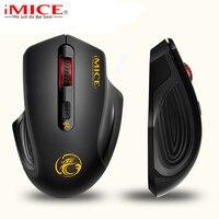 Ergonomia 2.4 ghz mouse sem fio usb 3.0 receptor óptico computador mouse design de poupança de energia sem fio jogos ratos para computador portátil