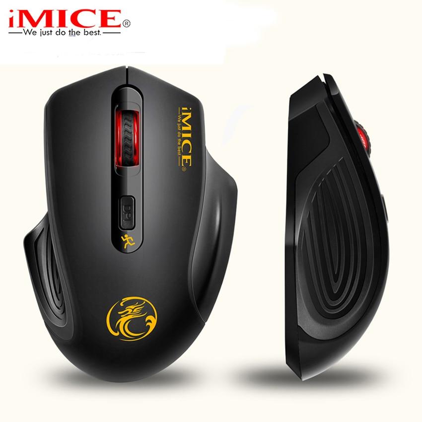 Ergonomie 2,4 GHz bezdrátová myš USB 3.0 přijímač Optická myš pro počítač s úsporou energie Aku bezdrátové herní myši pro PC Laptop
