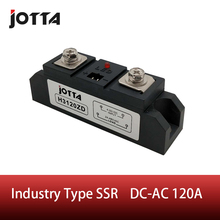 цена на SSR-120A Industrial SSR Single-phase Solid State Relay 120A Input 3-32VDC;Output 440AC