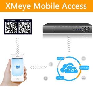 Image 4 - Cámara IP ONVIF CMS XMEYE 2 * SATA HDD, H.265 +/H.264 8ch * 4K/32ch * 5.0MP/32ch * 1080P grabador de vídeo de red NVR 1080P/720P